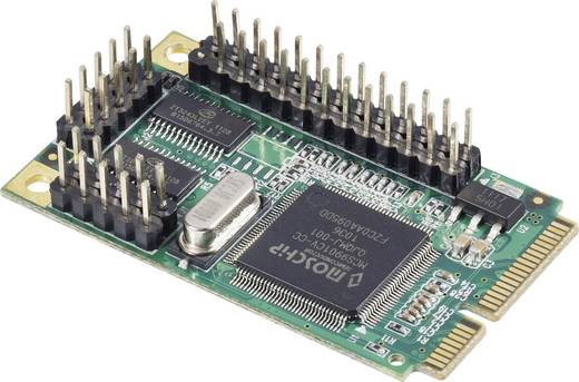 2+1-poorts serieel/parallel mini PCI-Express-kaart