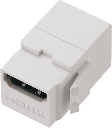 Dubbele HDMI-koppeling als Keystone-module