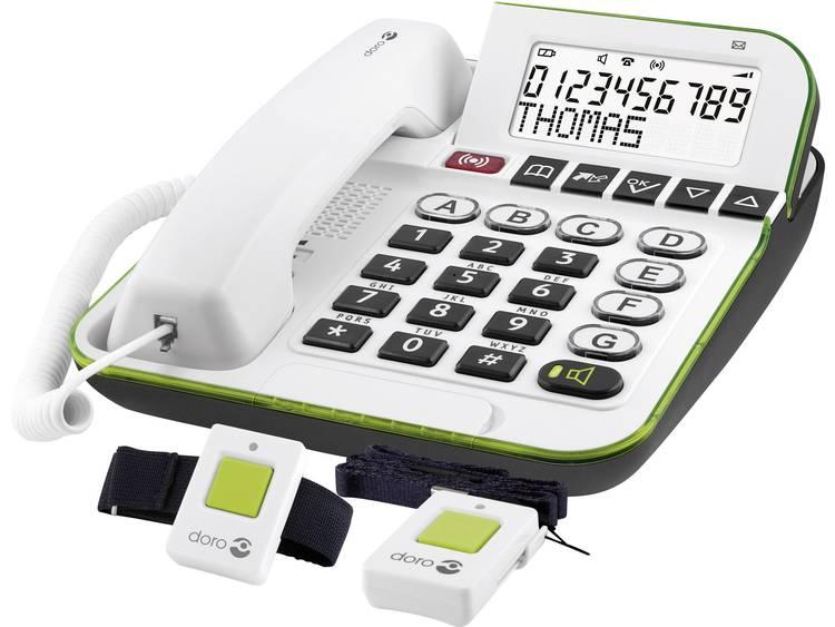 doro Secure 350 Bedrade seniorentelefoon Wit