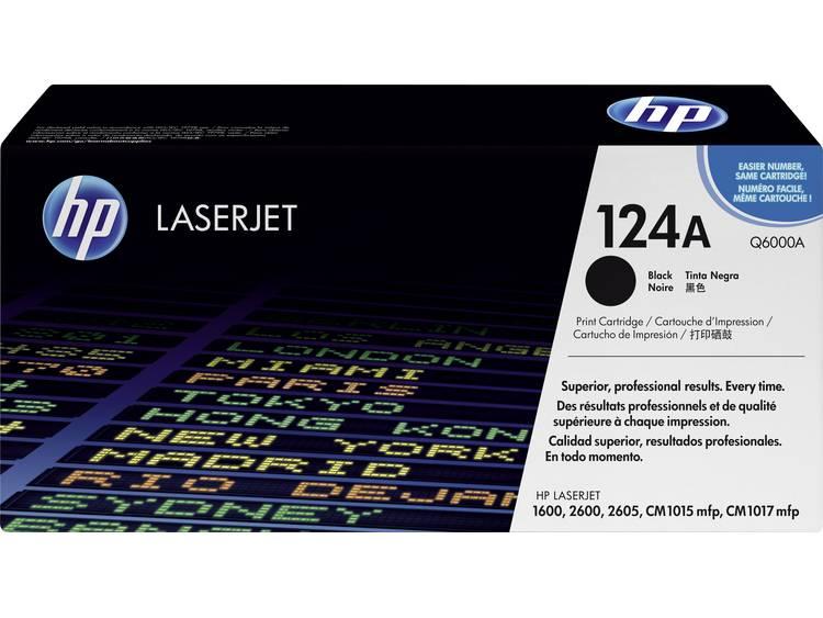 HP Tonercassette 124A Q6000A Origineel Zwart 2500 bladzijden