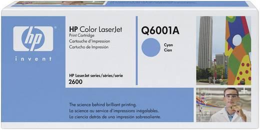 HP Tonercassette 124A Q6001A Origineel Cyaan 2000 bladzijden