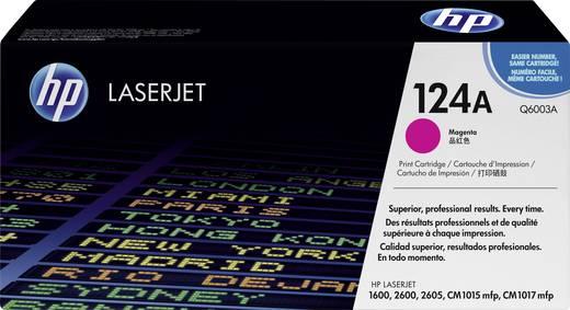 HP Tonercassette 124A Q6003A Origineel Magenta 2000 bladzijden