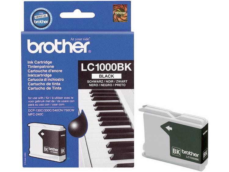 Brother Inkt LC-1000BK Origineel Zwart LC1000BK