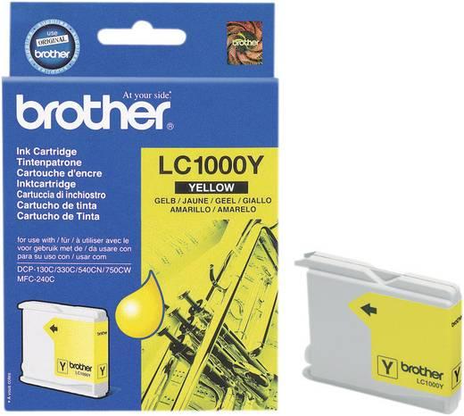 Brother Inkt LC-1000Y Origineel Geel LC1000Y