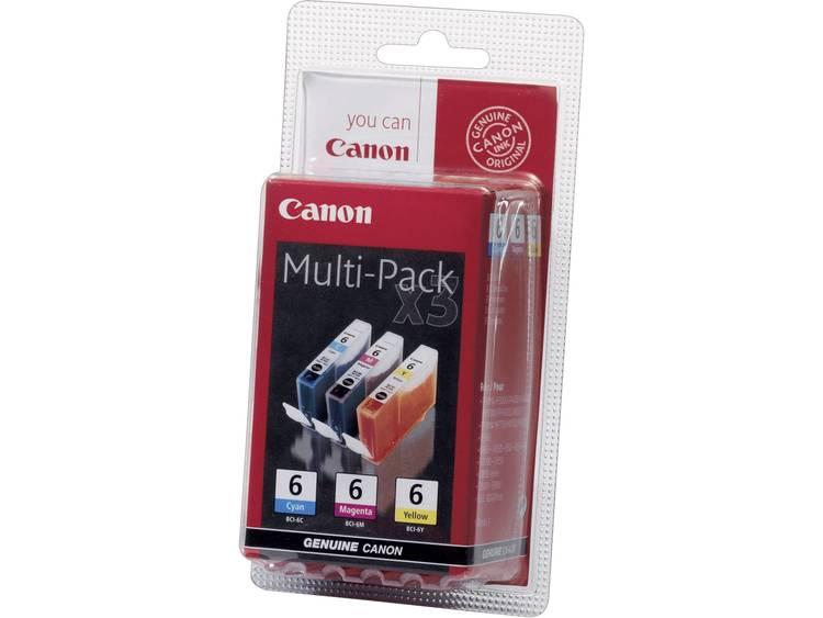 Canon Inkt BCI-6 Origineel Combipack Cyaan, Magenta, Geel 4706A029