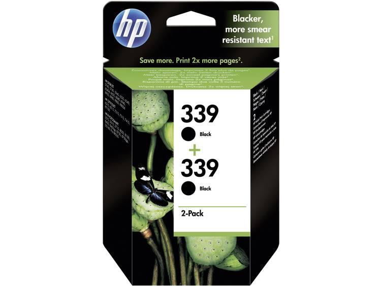 HP Inkt 339 Origineel Combipack Zwart C9504EE