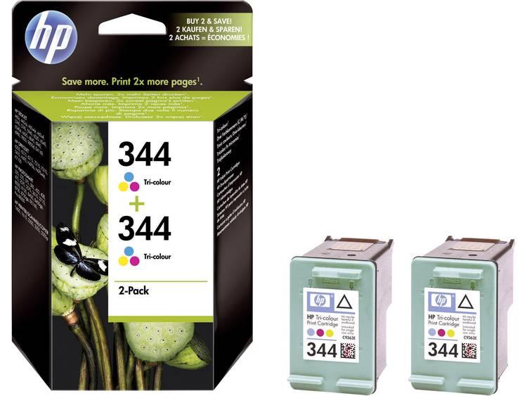 HP Inkt 344 Origineel Combipack Cyaan, Magenta, Geel C9505EE