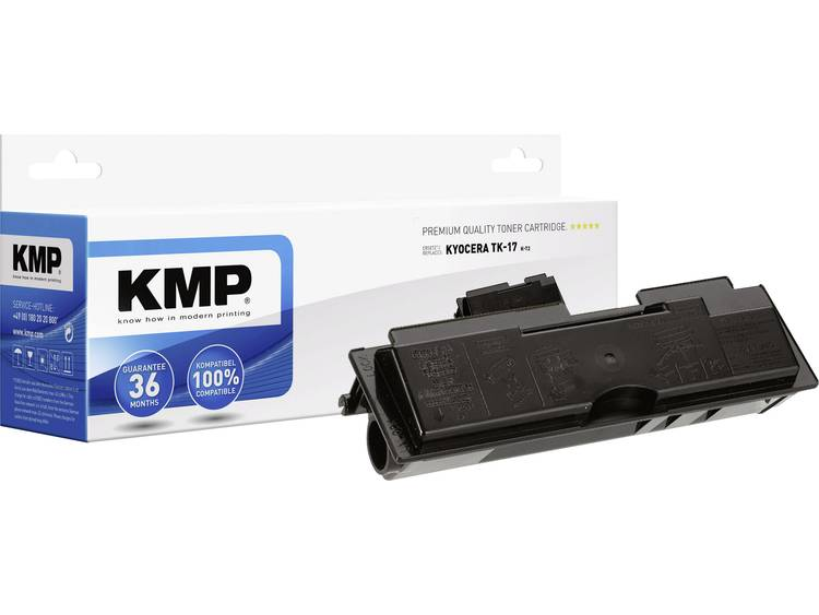 KMP Tonercassette vervangt Kyocera TK 17 Compatibel Zwart 6000 bladzijden K T2
