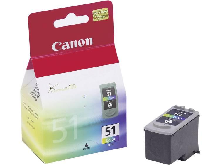 Canon Inkt CL-51 Origineel Cyaan, Magenta, Geel 0618B001