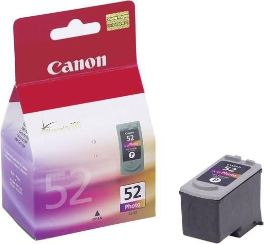 Canon Inkt CL-52 Origineel Foto cyaan, Magenta, Zwart 0619B001