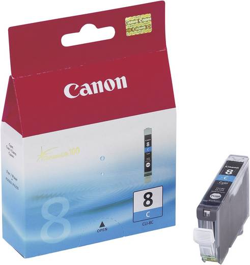 Canon Inkt CLI-8C Origineel Cyaan 0621B001