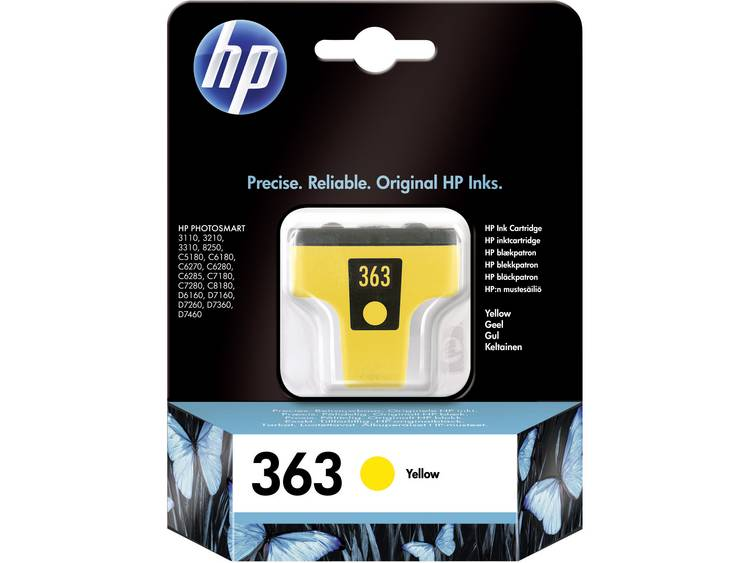 HP Cartridge 363 Geel