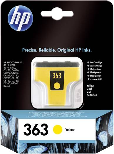 HP Cartridge 363 Geel