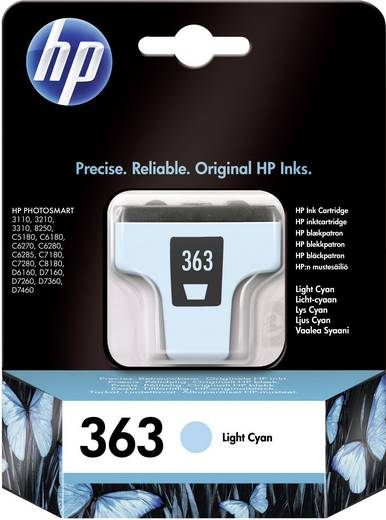 HP Cartridge 363 Lichtcyaan