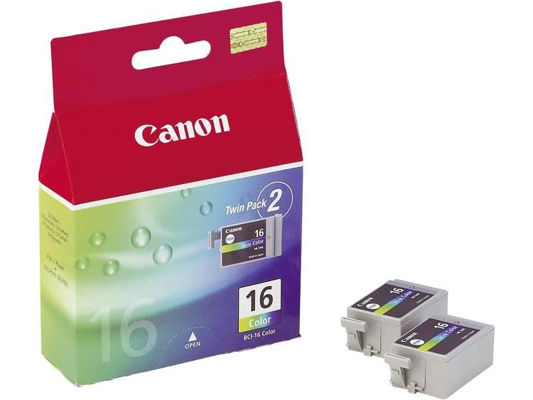 Canon Inkt BCI-16 C Origineel Cyaan, Magenta, Geel 9818A002