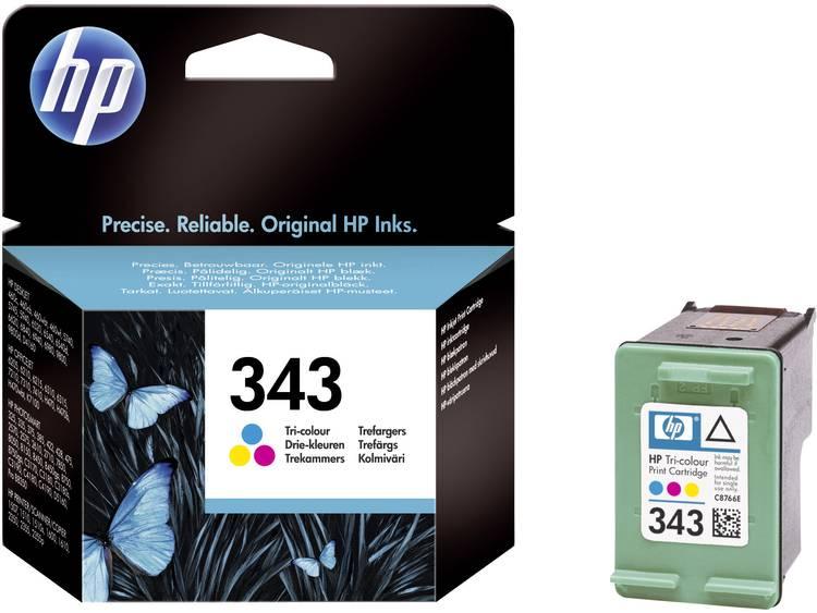 HP Inkt 343 Origineel Cyaan, Magenta, Geel C8766EE