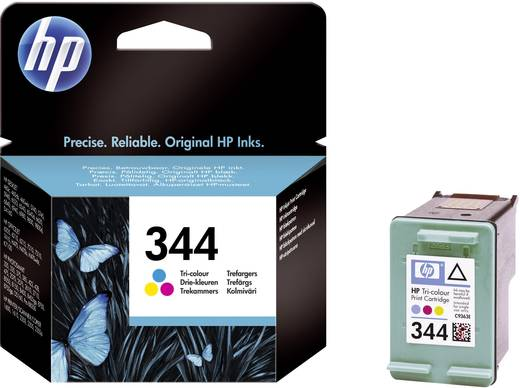 HP Inkt 344 Origineel Cyaan, Magenta, Geel C9363EE