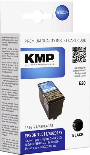KMP Inkt vervangt Epson T0511 Compatibel Zwart E20 0966,0001