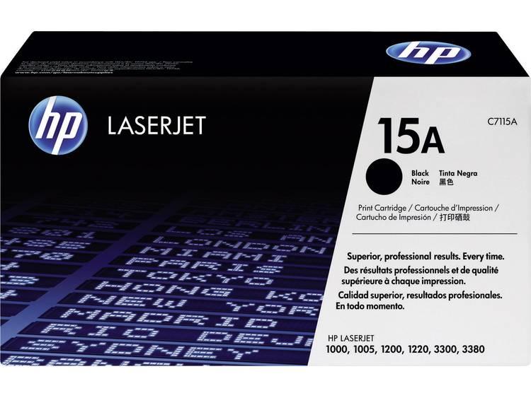 HP Tonercassette 15A C7115A Origineel Zwart 2500 bladzijden