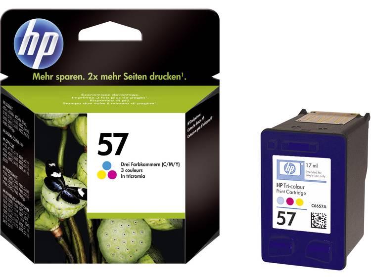 HP Inkt 57 Origineel Cyaan, Magenta, Geel C6657AE