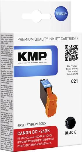 KMP Inkt vervangt Canon BCI-24 Compatibel Zwart BCI24BK 0944,0001