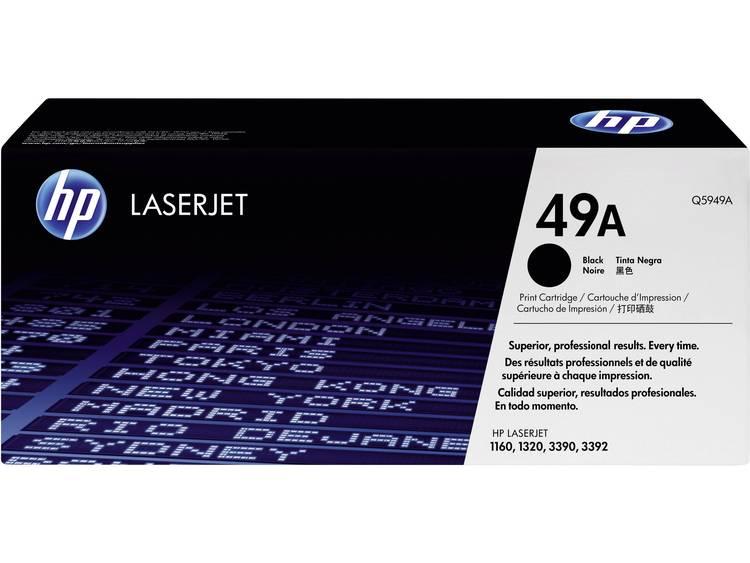 HP Tonercassette 49A Q5949A Origineel Zwart 2500 bladzijden