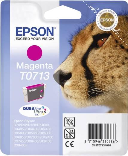 Epson Inkt T0713 Origineel Magenta C13T07134011