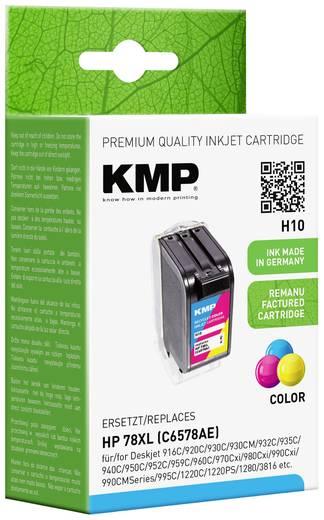 KMP Inkt vervangt HP 78 Compatibel Cyaan, Magenta, Geel H10 0992,4780