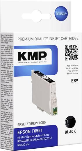 KMP Inkt vervangt Epson T0551 Compatibel Zwart E89 1012,0001