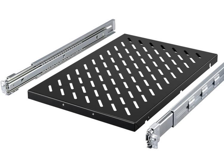 Rittal 5501.715 19 inch Patchkast-apparaatbodem 1.5 HE Variabele bevestigingsrails Geschikt voor kastdiepte: vanaf 600 mm Zwart