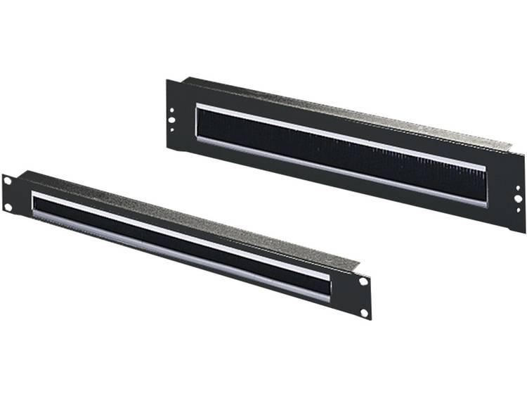 Rittal 5502.265 19 inch Patchkast-kabelvoering 2 HE Zwart