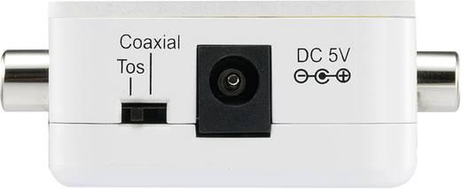 SpeaKa Professional 989125 Audio Converter [Toslink, Digitale cinch - Toslink, Digitale cinch]