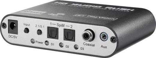 Audio Converter[2x Toslink, cinch digitale jackplug - 6-kanaals cinch] SpeaKa Professiona