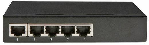 Allnet 5 Port Gigabit switch met PoE-voeding