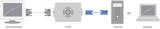 VGA / DVI Adapter [1x VGA stekker - 1x DVI-bus 24+1-polig] Zwart ATEN