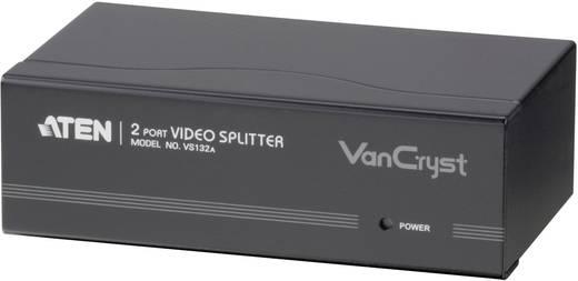 2 poorten VGA-splitter ATEN VS132A-AT-G met ingebouwde repeater Zwart