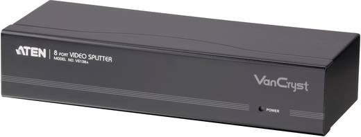 8 poorten VGA-splitter ATEN VS138A-AT-G met ingebouwde repeater 2048 x 1536 pix Zwart