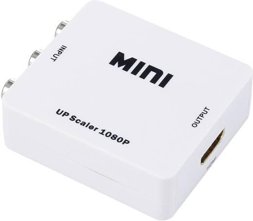 AV Converter [Composite cinch - HDMI] 1920 x 1080 pix