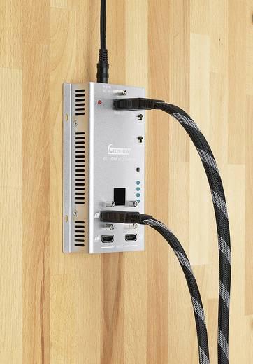 HDMI-switch 4 poorten voor wandmontage, met afstandsbediening, 3D-weergave mogelijk 1920 x 1080 pix SpeaKa Professional