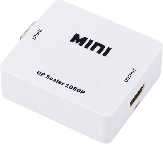 AV Converter [VGA, Jackplug - HDMI] 1920 x 1080 pix