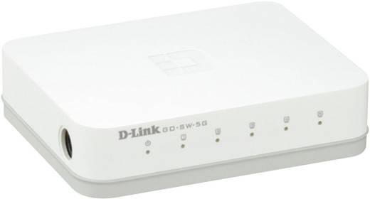 D-Link GO-SW-5G Netwerk switch RJ45 5 poorten 1 Gbit/s