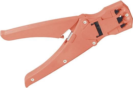Krimptang voor modulaire stekkers RJ10/RJ11/RJ12/RJ45 plastic, kabelkniptang, striptang