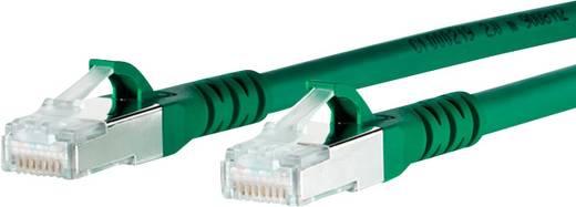 Metz Connect RJ45 Netwerk Aansluitkabel CAT 6A S/FTP 3 m Groen Snagless