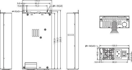 Bicker BEH-630 300 W PC-netvoeding 1 HE