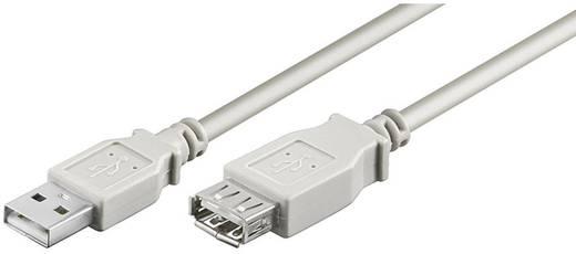 Goobay USB 2.0 Verlengkabel [1x USB 2.0 stekker A - 1x USB 2.0 bus A] 1.80 m Grijs
