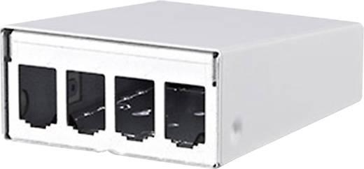 Metz Connect 130861-0402-E 4 poorten Netwerk-patchpanel Leeg 1 HE