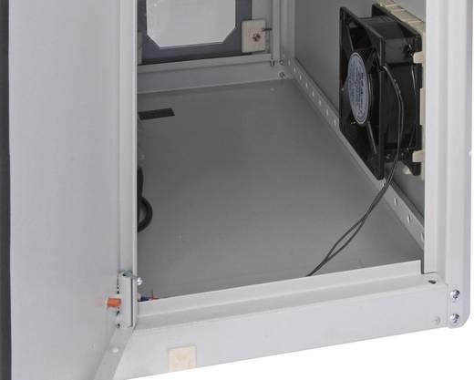 PC-kast Digitus Professional DN-CC 9002 met glazen deur en ventilator (b x h x d) 300 x 650 x 600 mm Lichtgrijs (RAL 7035)