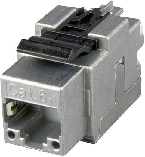 RJ45-inbouwmodule Keystone CAT 6A Telegärtner