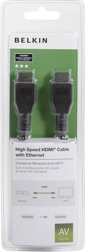 Belkin HDMI Aansluitkabel [1x HDMI-stekker - 1x HDMI-stekker] 2 m Zwart