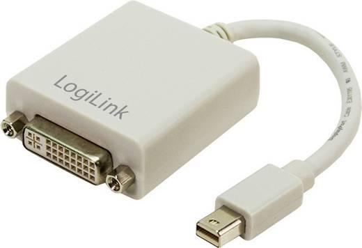 Adapter DisplayPort / DVI [1x Mini-DisplayPort stekker - 1x DVI-bus 24+5-polig] Wit LogiLink